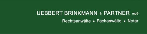 Uebbert Brinkmann & Partner Rechtsanwälte mbB - Logo